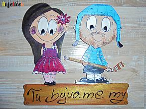 Tabuľky - Menovka - dvojica - 10316971_