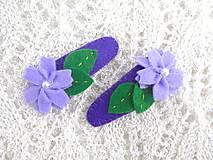 Detské pukačky M (Fialové kvety)