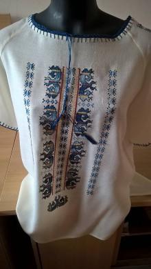 Topy - Nádherná hand made blúzka - 10317852_