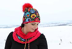 Čiapky - Hrejivý set - folk - 10318103_