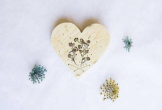 Dekorácie - Srdce na dvere -  Rovný rovného si hľadá - 10318971_