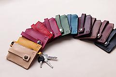 Kľúčenky - Kožená klíčenka(kľúčenka) - 10316097_