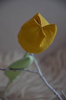 Dekorácie - Kvety mix (Žltá) - 10319335_