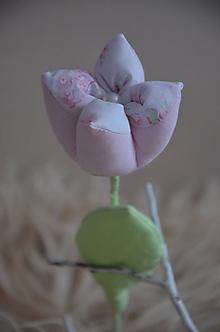 Dekorácie - Kvety mix (Ružová) - 10319341_
