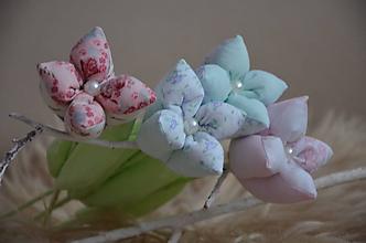 Dekorácie - Kvety mix - 10319599_
