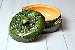 Nádoby - Keramická nádoba na pečenie - 10318990_