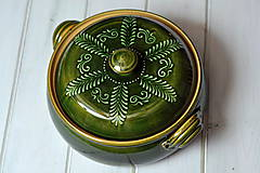 Nádoby - Keramická nádoba na pečenie - 10318992_