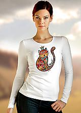 Tričká - Tričko Queencat - 10318565_