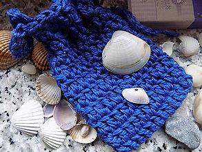 """Úžitkový textil - Hačkované vrecúško  -   na mydlo  """" 1"""" - 10317344_"""