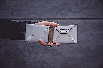 Peňaženky - Peněženka XY Origami Stone - 10317425_