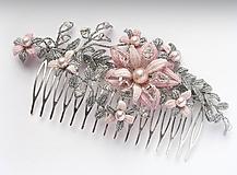 Ozdoby do vlasov - Hřeben Vanesa - 10316217_