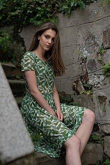Šaty - Sieťkové šaty Green Collection - 10318356_