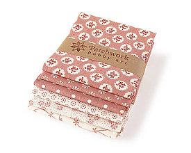 Textil - Bavlnené látky - balíček TFQ126 - 10316905_