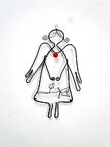 Detské doplnky - Jemný anjel  (kvietok) - 10315536_