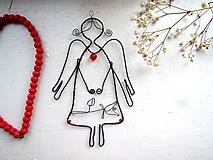 Detské doplnky - Jemný anjel  (kvietok) - 10315540_