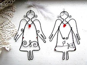 Detské doplnky - Jemný anjel  (špirálka) - 10315544_
