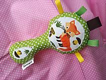 Hračky - Susugo hrkálka - pískatko líšky v lese. - 10317806_