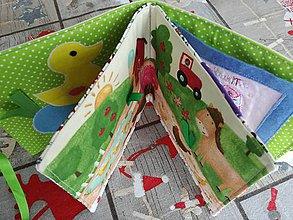 Hračky - Soft book - Na gazdovskom dvore. - 10318701_