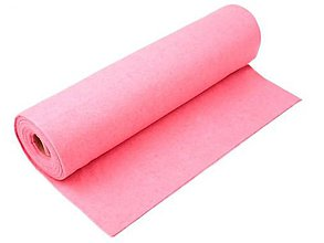 Textil - Filc-metráž, šírka 41 cm (svetlo ružová) - 10315577_