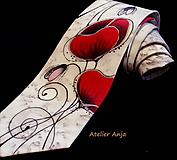 Doplnky - Hodvábna kravata - Maky - 10319498_