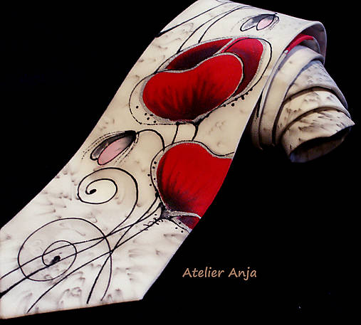 Hodvábna kravata - Maky
