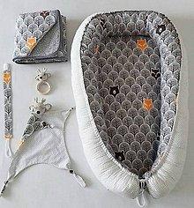 """Textil - Veľký set do pôrodnice """"lesní kamoši 2"""" - 10321419_"""