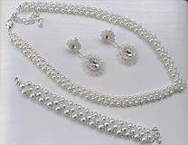 Sady šperkov - Svadobna suprava - 10321305_