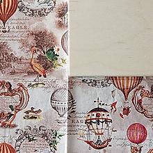 Krabičky - KRABICA HRANATÁ (TEPLOVZDUŠNÉ BALÓNY vintage) - 10324167_