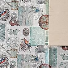 Krabičky - KRABICA HRANATÁ (ZÁHRADA vintage motív) - 10324183_