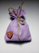 Úžitkový textil - Vrecúško na levanduľu 13 - 10323974_