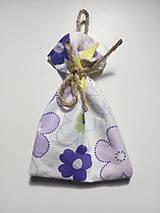 Úžitkový textil - Vrecúško na levanduľu 15 - 10323993_