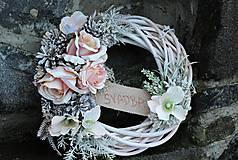 Dekorácie - Svadobný venček - 10320817_
