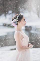 Ozdoby do vlasov - Kvetinový venček  - 10324418_