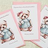 Papier - Pohľadnica s macikom - 10321170_