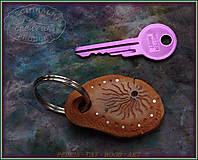 Kľúčenky - 52. DŘEVĚNÁ KLÍČENKA - Slivoňka kořen - 10324044_