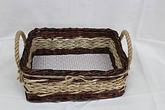 Košíky - Košíček s rúčkami - 10321041_