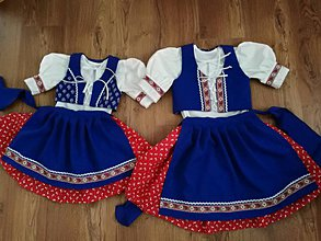 Detské oblečenie - Krásne dievčenské kroje od 2 do 12 rokov - 10324212_