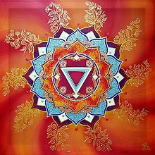 Obrazy - Mandala životodarnej telesnej energie - 10320490_