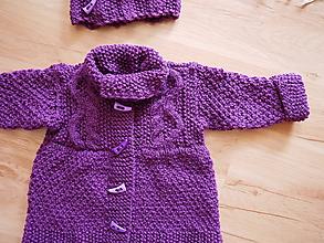 Detské oblečenie - detský setík-šaty na zapínanie vpredu - 10322591_