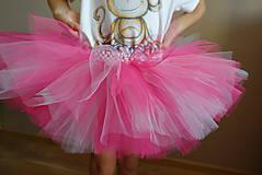 Detské súpravy - Narodeninový set s tutu sukničkou - 10320978_