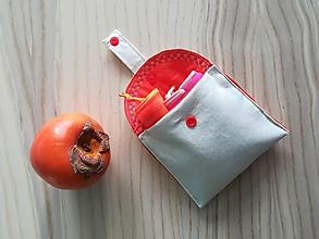 Nákupné tašky - Nákupná súprava vreciek na zeleninu - basic (Orange) - 10320943_