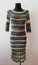 Šaty - Háčkované šaty - 10323827_