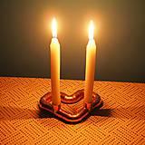 Svietidlá a sviečky - Svietnik - srdce - 10323861_
