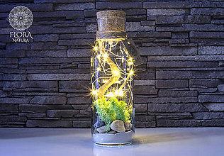 Svietidlá a sviečky - Dekoračná lampa (Dekoračná lampa s LED retiazkou na baterky) - 10320639_