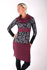 Šaty - BOULEVARD DU PALAIS... mix dress - 10321509_