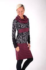 Šaty - BOULEVARD DU PALAIS... mix dress - 10321510_