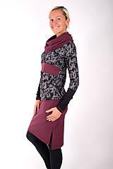 Šaty - BOULEVARD DU PALAIS... mix dress - 10321512_