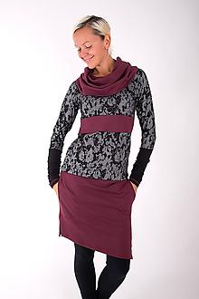 Šaty - BOULEVARD DU PALAIS... mix dress - 10321508_