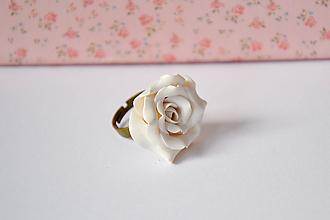 Prstene - ruža, prsteň - 10320429_