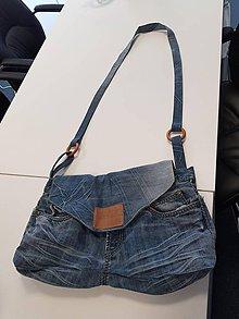 Veľké tašky - Rifľová taška - 10324316_
